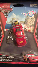 New Sakar Cars 2 USB Flash Drive 2GB  Lightning McQueen Flash Drive 2GB