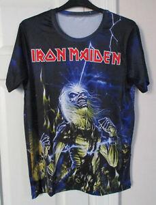 Iron Maiden - Live After Death allover print T-shirt XXL 2XL - NWOT