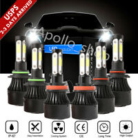 Combo 9005 +H11 +9006 CREE LED Headlight Kit High Low Beam 6000K 6600W 900000LM
