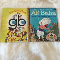 LITTLE GOLDEN BOOK Ali Baba AND THE FORTY THIEVES 1973 Vintage 70s Hardcover