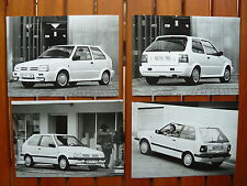 Nissan Micra 1,2 LX / Super S - 4x Presse-Fotos press-photos 1991  (N0043