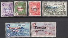 Herm Island MNH Cinderellas Europa map set 1961