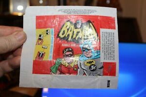 Topps Wax Pack Wrapper 1966 For Bat Man TV Series Cards