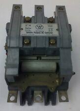 WESTINGHOUSE GCA4530 AC CONTACTOR, 600V MAX, FLA 260A-LRA 1500A, 120V COIL, USED