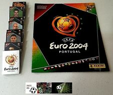 Panini Euro 2004 EM Soccer Complete Loose Stickers Set 1-334 + Empty Album