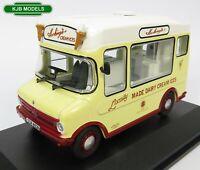 BNIB O GAUGE OXFORD 1:43 43CF002 Bedford CF Ice Cream Van / Morrison Hockings