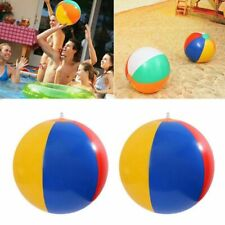 Kids Outdoor Beach Ball Inflatable Summer Seaside Sand Play Swimming Pool Toys