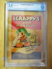Scrappy's Own Magazine  1   CBCS Graded 2.5    1935    RARE COMIC