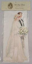 Victorian Turn Of The Century Large Wedding Card Pop-Up Bride & Groom #Grc106