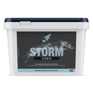 STORM Canis Muscle performance Supplement for DOGS - Racing, Flyball, Agility