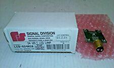 Federal Signal Led 024asb Amber Led Lampindicator 24vacdc Series B Nib