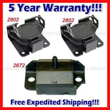 M110 Fits 96-05 Chevy Blazer/ 96-03 Chevy S10 4.3L 2WD Motor & Trans Mount Set