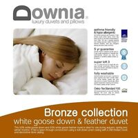 Downia Bronze Collection 50% White Goose Down and 50% Feather Quilt-QUEEN Size