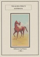 Will's Melbourne Cup Winners 1906 full set of 45 classic Racehorse cards 110 Y/O