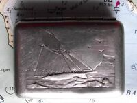 Original Clyde Yacht Bryant May Ships Vesta Match Case