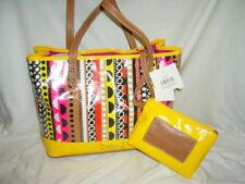 NEW Nine West Shoulder Handbag yellow, plus multi color purse