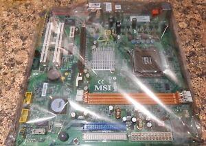 MSI MS-7301, LGA 775/Socket T, Intel Motherboard