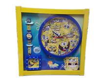 SpongeBob Squarepants Clock Set Value Gift Set For Kids
