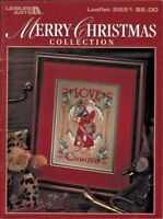 Merry Christmas Collection Leisure Arts #2691 Counted Cross Stitch Color Charts