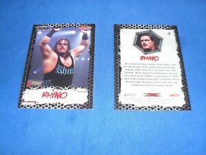 TNA Wrestling Trading Card 9 Rhino BRAND NEW COLLECTABLE CARD. Tv Sports