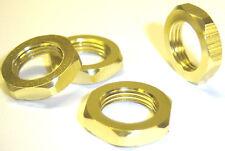 1/8 Disque 17 mm Wheel Hex Moyeu Écrou en aluminium Jaune x 4 filetage M12