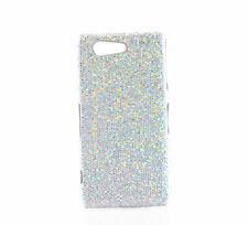 Silberne Tasche/Schutzhülle für Sony Xperia Z3 Compact