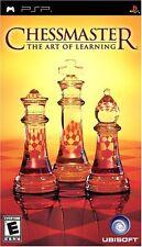 Chessmaster: The Art of Learning - PSP (Josh Waitzkin Training Program) New