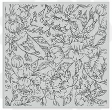 Flower Blooming Background Transparent Clear Stamp For Scrapbooking Cards Making