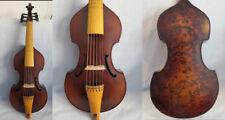 "Baroque style SONG Brand bird's eye Maestro 6 strings14"" viola da gamba #10952"