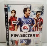 FIFA SOCCER 10 – SONY PLAYSTATION 3 (PS3) – VIDEO GAME - (CIB)