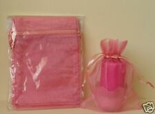 5X7 HOLIDAY CHRISTMAS GIFT ORGANZA POUCH BAG Rose Mauve