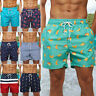 Men's 3 Pocket Swim Shorts Surf Sport Trunks Summer Beach Boardshorts Swimsuits