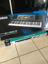 Psr-e363 - Clavier Arrangeur Dynamique 61 touches Yamaha