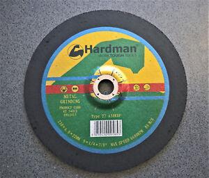 Hardman Brand 230mm Grinding Disc 230 x 6.0mm x 22mm