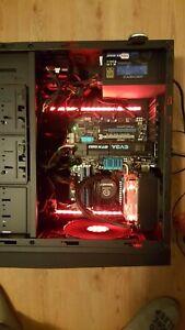 Gaming PC AMD FX 8350 4.0GHz RAM 8GB SSD 128GB HDD 1TB 1.5G_GTX_580 Win10 COA