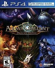 Playstation 4 Arma Gallant ArmaGallant Decks of Destiny; NEW! Ships FREE Daily!