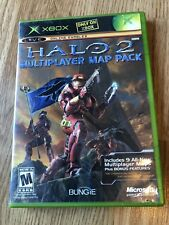 Halo 2 Multiplayer Map Pack (Microsoft Xbox, 2005) Cib -H3