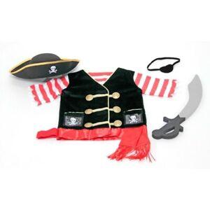 Melissa and Doug - Pirate Role Play Costume Set