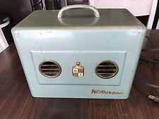 Vintage 50s Weatherzone Model 55 Electric Desktop Air Conditioner Dual Fan WORKS
