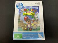 Mario Power Tennis Nintendo Wii Game *Complete* (PAL)