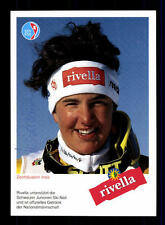 Ines Zenhäusern  Autogrammkarte Original Signiert Ski Alpine + A 151942