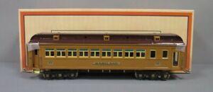 MTH 11-40030 Standard Gauge Maryland Two-Tone Brown Solarium State Car NIB