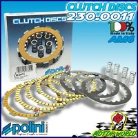 230.0011 Serie Discos Embrague Racing POLINI Para beta Motard 50 Alu AM6 2003