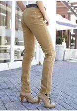Aniston Cordhose NEU Gr.34,38,40,42,44 Damen Stretch Beige Freizeithose Kord