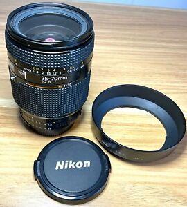 Nikon Nikkor AF 35-70mm f/2.8 D Fast Zoom Lens + HB-1 & Caps - Fully Working