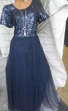 NEU Sheego Kleid Damen Maxikleid Gr 198 40 bis 48 weich fallend  Muster