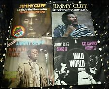 JIMMY CLIFF * 5 Sgl.ua MANY RIVERS TO CROSS * WILD WORLD * LOOK AT THE MOUNTAINS