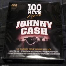 JOHNNY CASH - 100 Hits Legends: 5 CD BOX SET - FACTORY SEALED