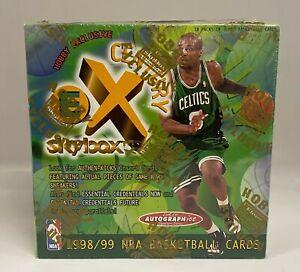 1998-99 Fleer E-X Century Basketball Hobby Box Sealed Dirk Nowitzki RC Year