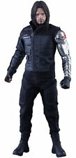 Hot Toys 1:6 Scale Winter Soldier Captain America Civil War Black/Silver MMS351